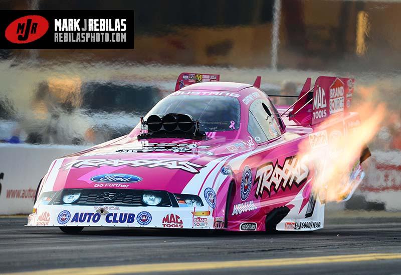 Pretty in Pink. u201c & NHRA Funny Car Star Courtney Force Gauges Team Progress Since ... markmcfarlin.com