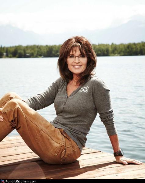 Sarah Palin in Bikini With Rifle Urban Legend