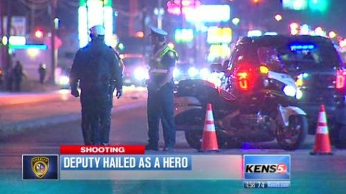 Deputy Hailed As Hero
