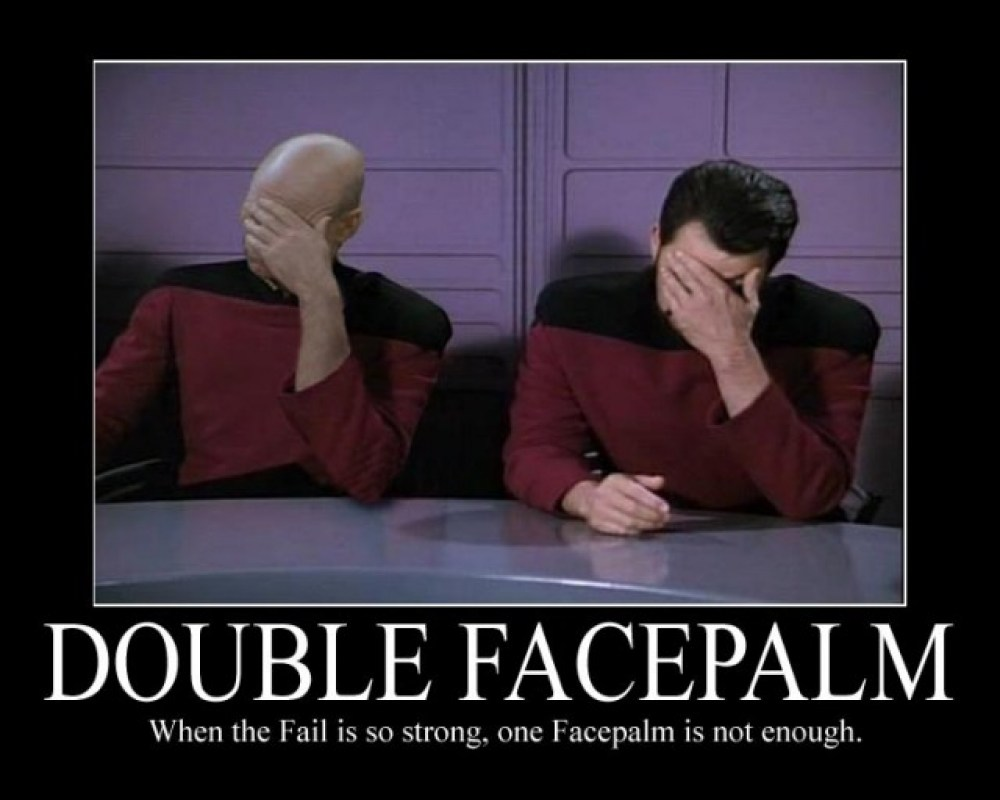 Response to News Articles Posted at TNT Facepalm