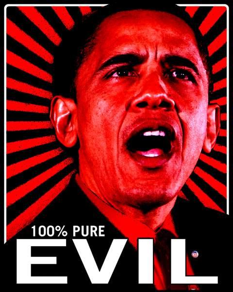 obama-evil 100% pure