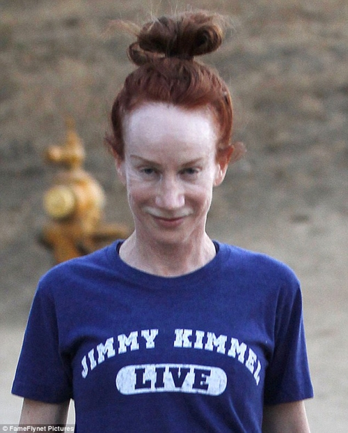 Kathy Griffin  Ginger Ugly Plastic Surgery Before After Mess Dog Show D List Body Bravo Bikini Naked No Make Up
