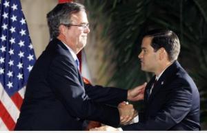 rubio handshake