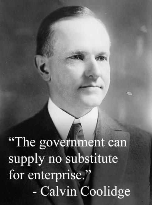 calvin-coolidge no substitute