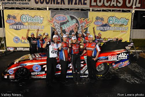Courtney Pomona Winners Circle