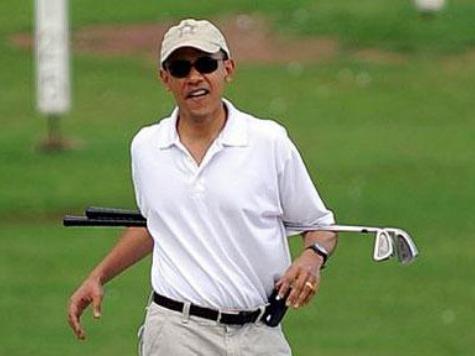 Obama Golf AP