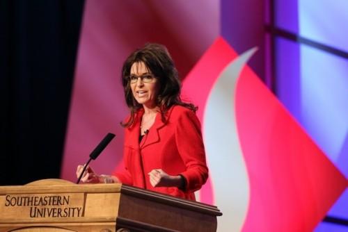 Palin at SUNLF 2