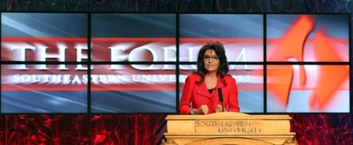 Palin at SUNLF Header