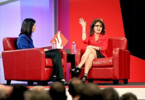 Sarah Palin and Christina Gard 2