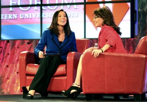 Sarah Palin and Christina Gard SUNLF
