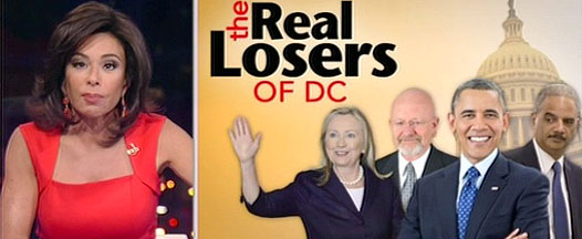 Judge Jeanine Real Losers of DC