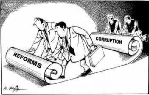 Reforms corruption