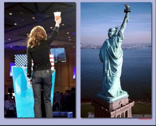 Sarah Palin Big Gulp Liberty