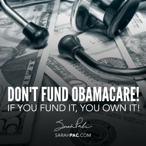 Don't Fund It SarahPAC