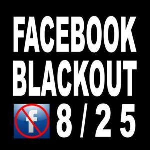 FB black out
