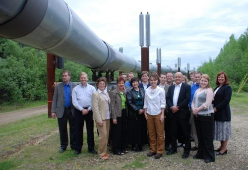 Sarah Palin Alaska Pipeline