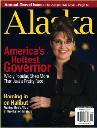 Sarah Palin Hottest Governor Coldest State