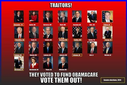 15 traitors
