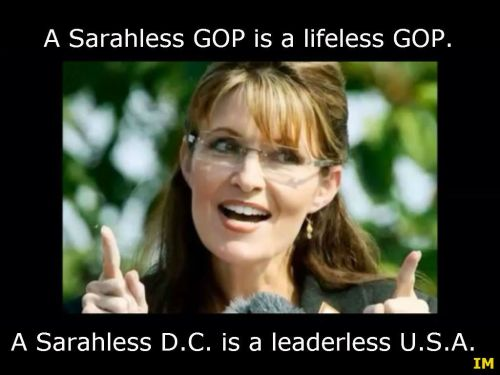 a sarahless gop is lifeless