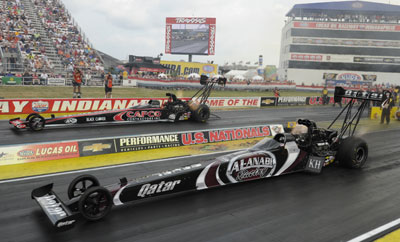 Langdon Torrence Top Fuel Final 2013 Traxxas Indy