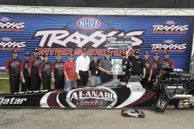 Langdon Winners Circle 2013 Traxxas Indy