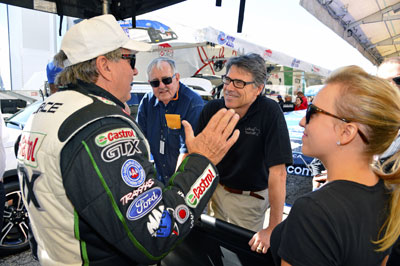 Rick Perry John Force Brittany Force