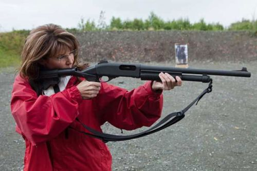 Sarah Palin Grizzly Bear Training Camp