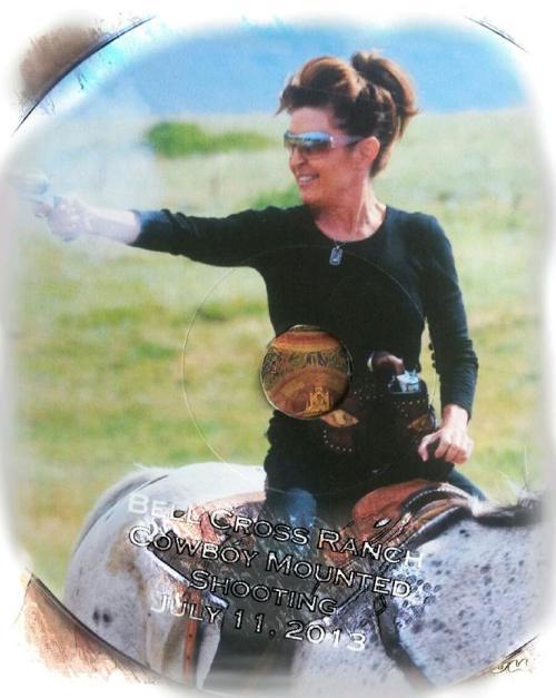 Sarah Palin Annie Oakley