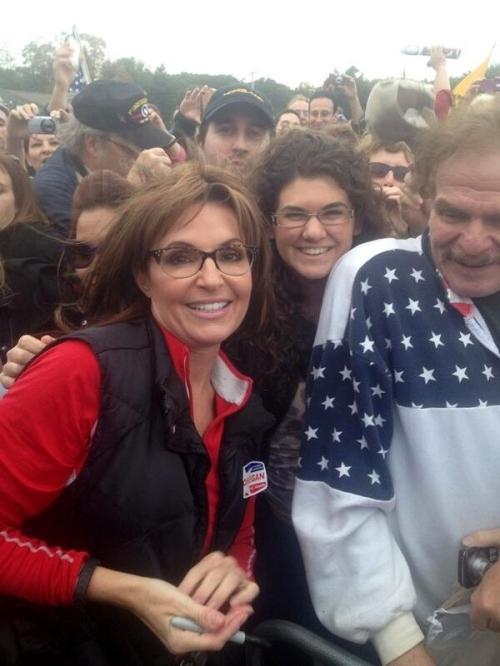 Palin at the Rally