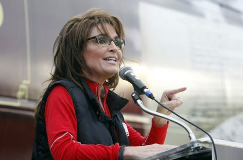 sarah palin speaking at nj rally