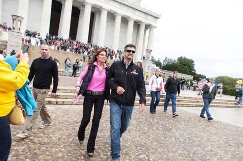 Sarah Palin Todd Palin DC Rally