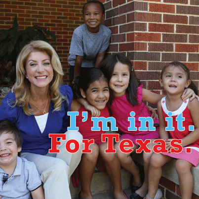 Wendy Davis for the children