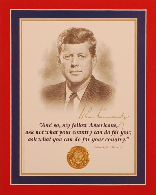 JFK Ask Not