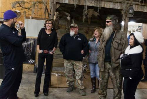 Sarah Palin and Duck Dynasty