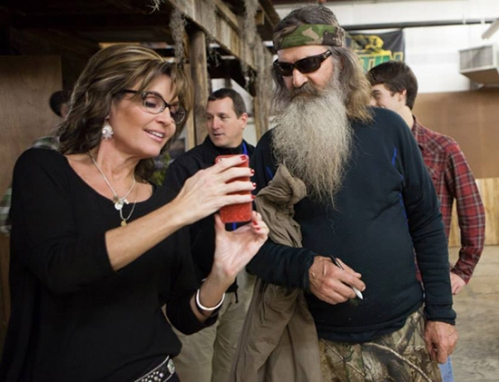 sarah-palin-phil robertson-duck-dynasty