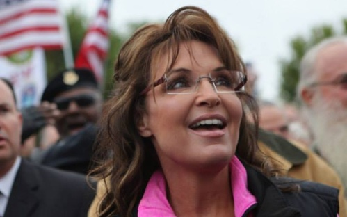 Sarah Palin Smiling Flag
