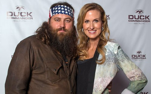 Duck Dynasty's Willie and Korie Robertson Share New Years Eve With