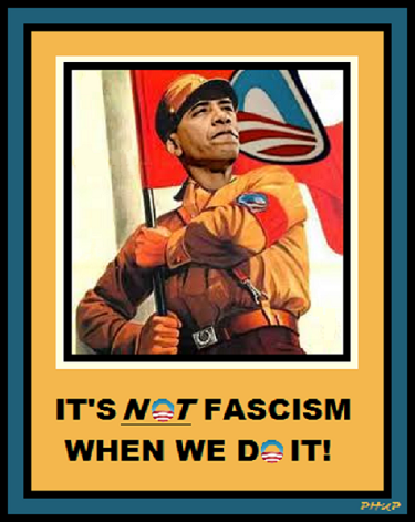 its not fascism when we do it