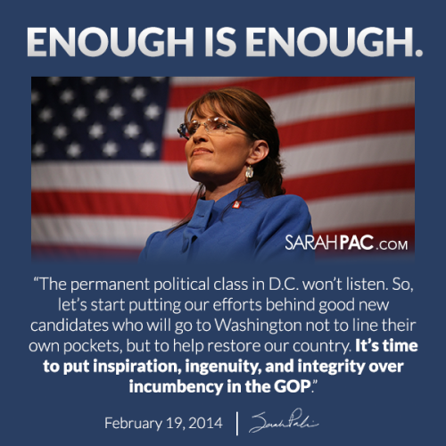 Sarah Palin Enough is Enough