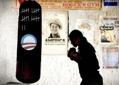 Sarah Palin Rogues Gym