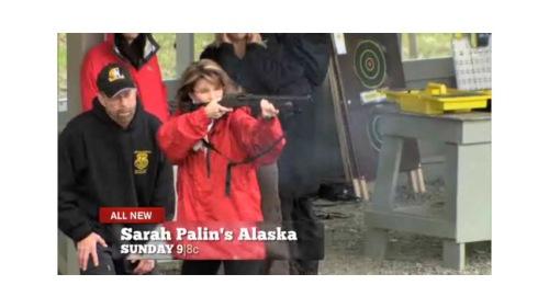 sarah_palin_shotgun Bear Hunting Sarah Palin's Alaska TLC