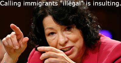 sotomayor insulting