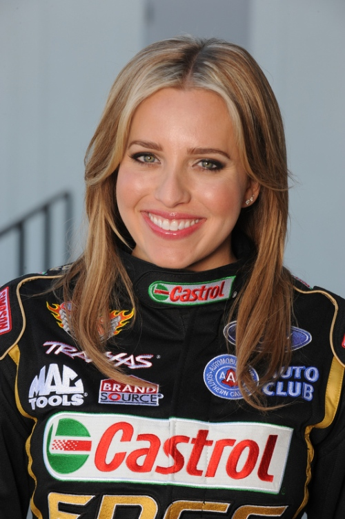 Brittany Force Castrol