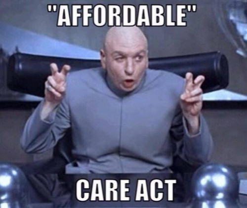 Dr Evil Affordable Care Act