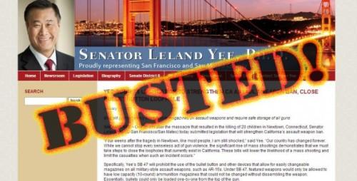 Leland Yee BUSTED