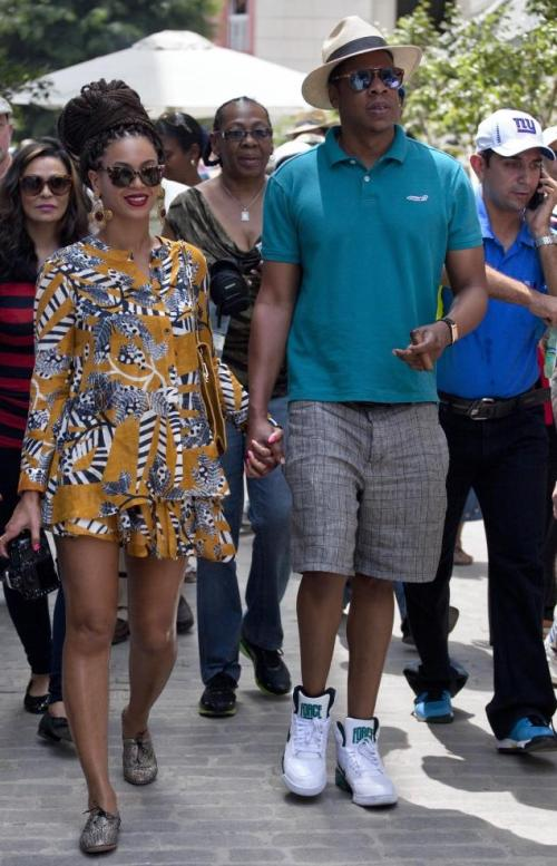 jayz and beyonce in cuba
