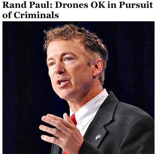 rand paul drones