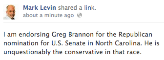 greg bannon mark levin