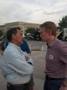 Lankford Speaking at TPX rally