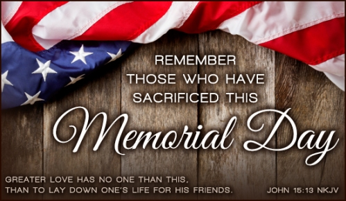 Memorial-Day Greater Love Has No One